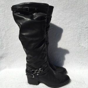 👢Carlos By Carlos Santana Black Fashion Boots